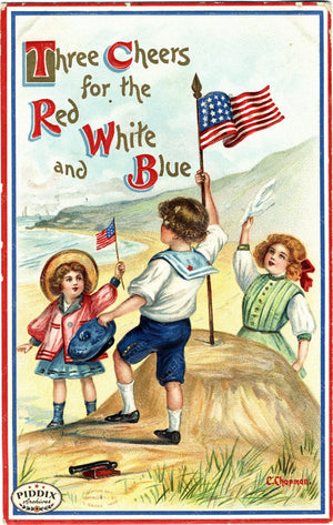 Pdxc8355 -- Fourth Of July Postcard