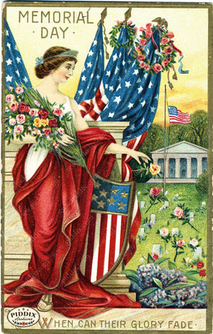 Pdxc8358 -- Fourth Of July Postcard