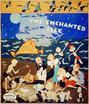 Pdxc8425 -- Vintage Travel Posters Poster
