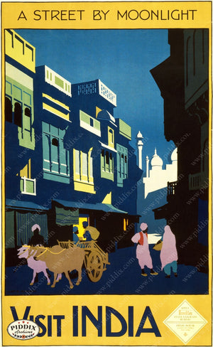 Pdxc8428 -- Vintage Travel Posters Poster
