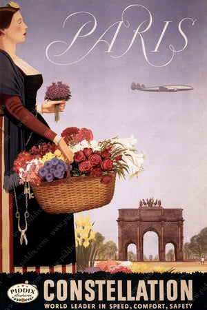 Pdxc8431 -- Vintage Travel Posters Poster
