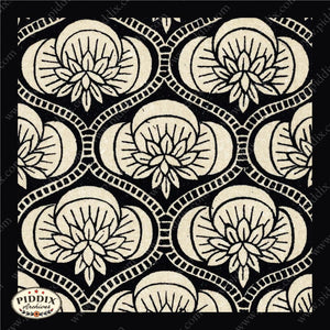 Pdxc8454 -- Patterns Black & White Lithograph