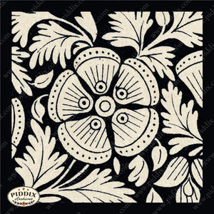 Pdxc8456 -- Patterns Black & White Lithograph