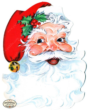 PDXC9025-- Santa Claus Color Illustration