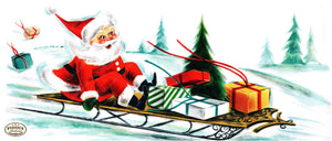 PDXC9039-- Santa Claus Color Illustration