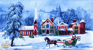 Pdxc9052 -- Snowy Scenes Color Illustration