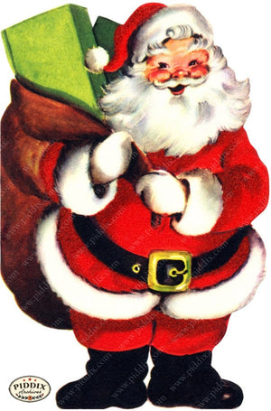 Pdxc9053 -- Santa Claus Color Illustration
