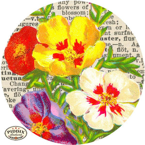 Pdxc9149B -- Original Flower Collages Collage