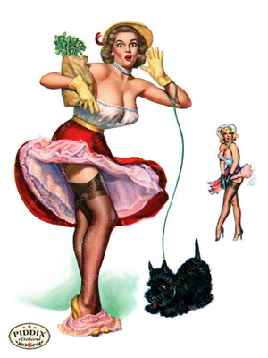 Pdxc9261 -- Pin-Ups Color Illustration