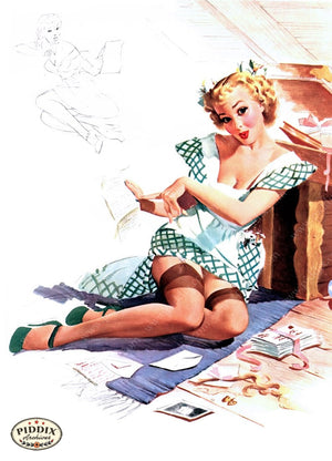 Pdxc9276 -- Pin-Ups Color Illustration