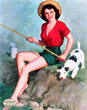 Pdxc9392 -- Pin-Ups Color Illustration