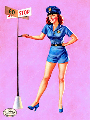 Pdxc9398 -- Pin-Ups Color Illustration