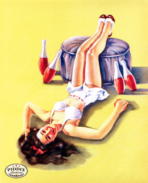 Pdxc9399 -- Pin-Ups Color Illustration