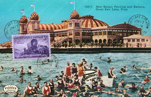 Pdxc9418 -- Travel Postcards Original Collage