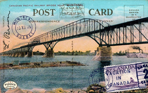 Pdxc9525 -- Travel Postcards Original Collage