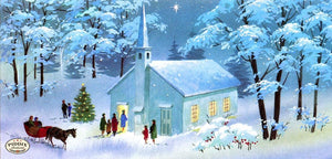 Pdxc9724 -- Snowy Scenes Color Illustration