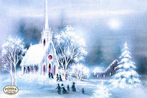 Pdxc9730 -- Snowy Scenes Color Illustration