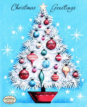 Pdxc9734A -- Christmas Trees Color Illustration