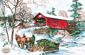 Pdxc9743 -- Snowy Scenes Color Illustration
