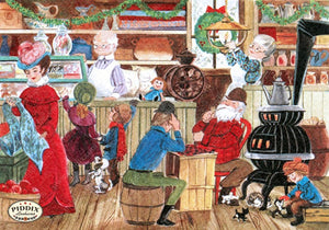Pdxc9745 -- Santa Claus Color Illustration