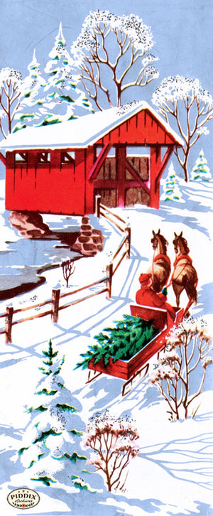 Pdxc9747 -- Snowy Scenes Color Illustration