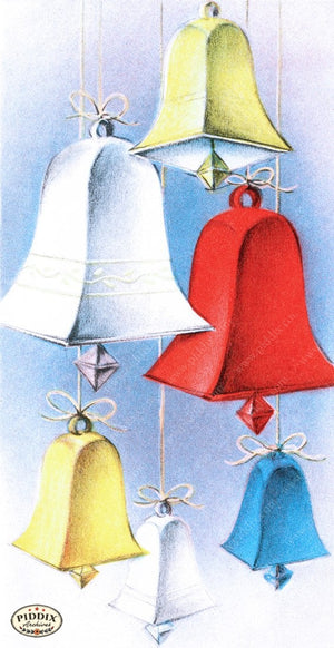 Pdxc9749 -- Christmas Bells Color Illustration
