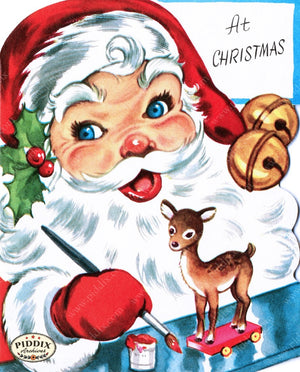 Pdxc9752A -- Santa Claus Color Illustration