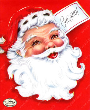 Pdxc9762B -- Santa Claus Color Illustration