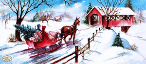 Pdxc9770A -- Snowy Scenes Color Illustration