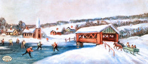 Pdxc9779 -- Snowy Scenes Color Illustration