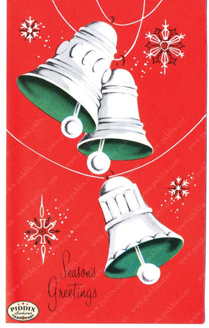 Pdxc9797 -- Christmas Bells Color Illustration