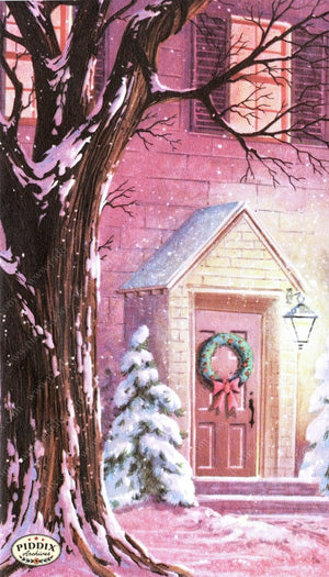 Pdxc9826 -- Snowy Scenes Color Illustration