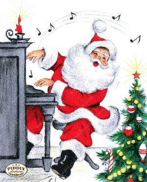 Pdxc9835 -- Santa Claus Color Illustration