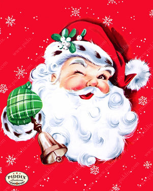 Pdxc9869 -- Santa Claus Color Illustration