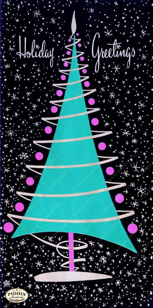 Pdxc9931 -- Christmas Trees Color Illustration
