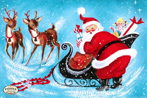 Pdxc9948 -- Santa Claus Color Illustration