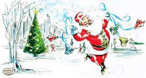 Pdxc9969 -- Santa Claus Color Illustration