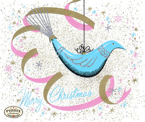 Pdxc9977 -- Christmas Birds Color Illustration
