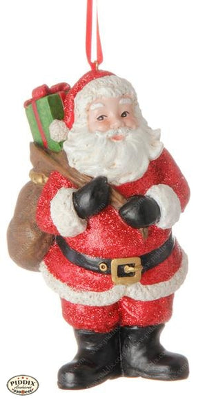 Santa Claus Christmas Ornament -- Piddix Licensed Products Licensed Piddix Product