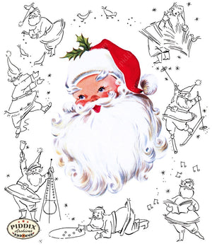 Santa Claus Pdxc9822 Color Illustration