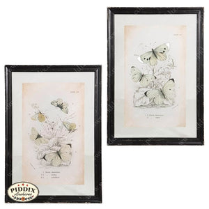 Vintage Butterfly Prints Wall Art -- Piddix Licensed Products Licensed Piddix Product