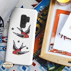 Vintage Tattoos Phone Cases -- Piddix Licensed Products Licensed Piddix Product