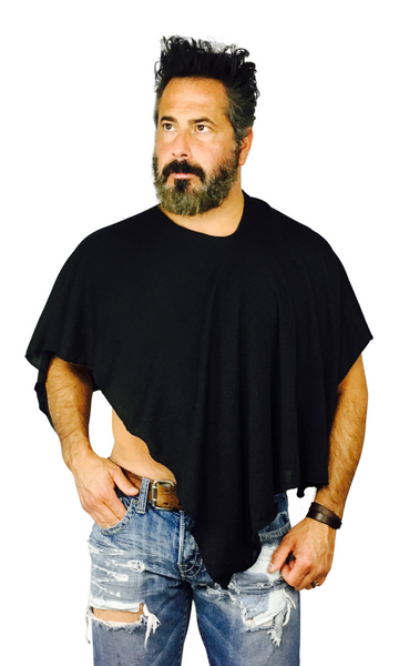 Covered'n-case 3-way Men's Shawl