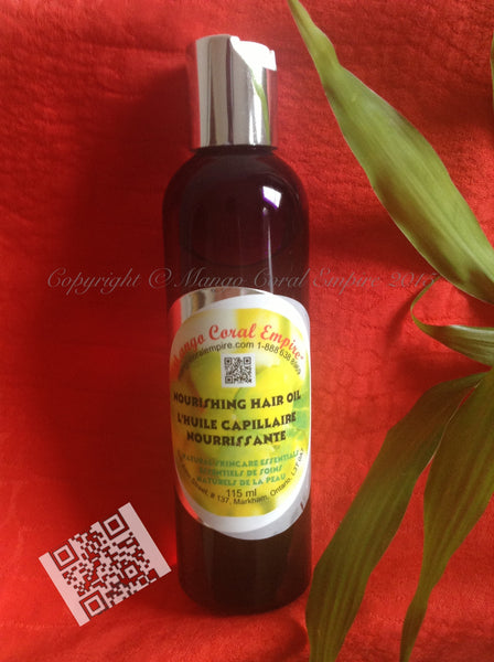 Nourishing Hair Oil - Avocado plus for body/face/hair - Mango Coral Empire Handcrafted natural skincare, natural perfume, natural deodorant, hair and shaving products