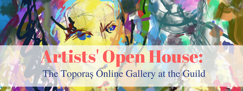 Artists on Show at the Toporas Online Art Gallery at The Guild Exhibition