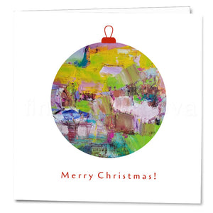 Cover of the Christmas Card Delight by Florina Breazu