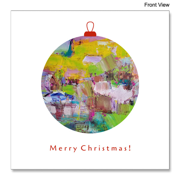 Front view of the Christmas Card Delight by Florina Breazu