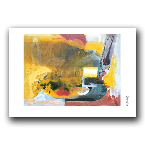 Fine art print titled Beginnings I by Moldovan artist Florina Breazu