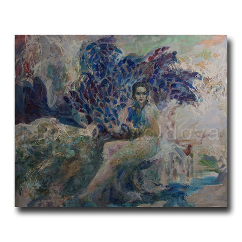 Original painting entitled Aphrodite by Olga Bakitskaya