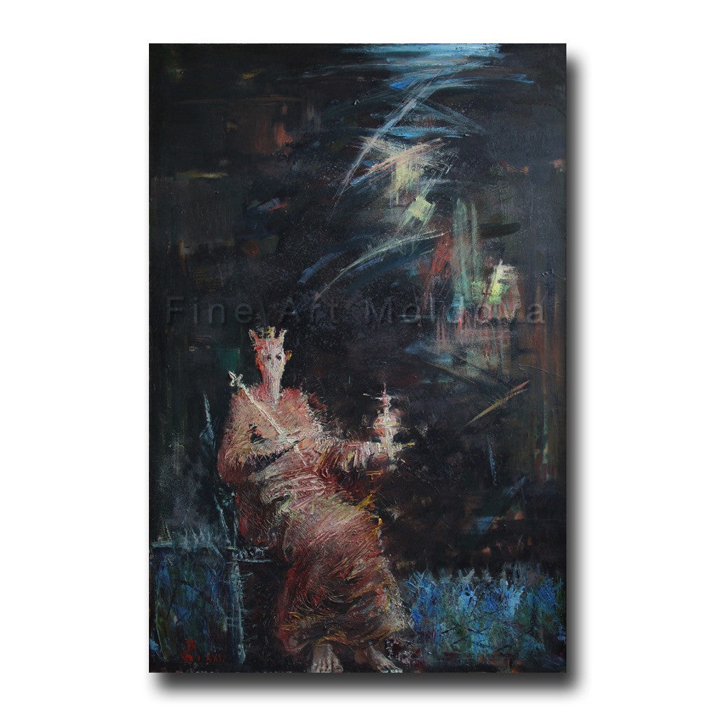 Original painting entitled Monarch by Vyacheslav Bakitsky